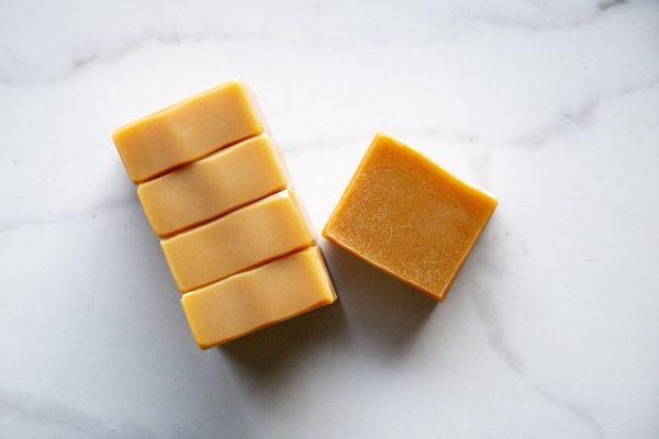 lemongrass and rosemary soap