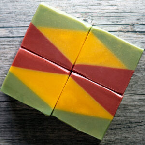 picture of apple sage soap